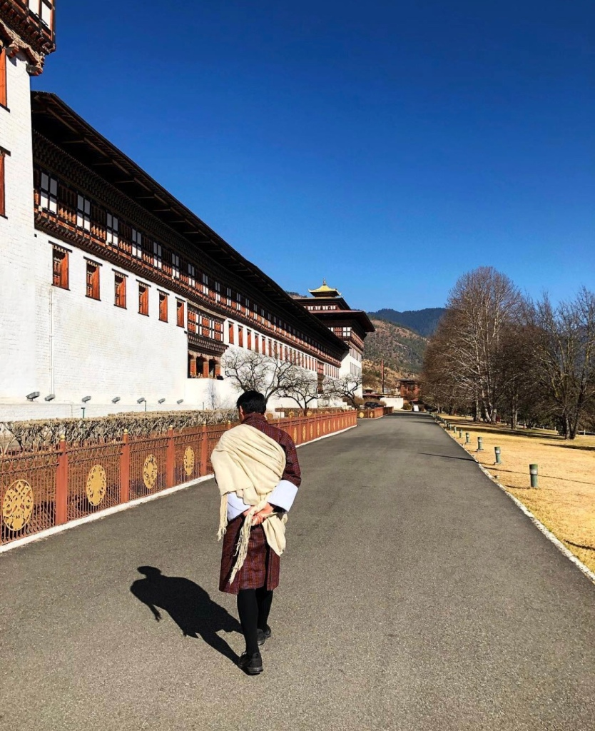 Bhutan traditional outfit