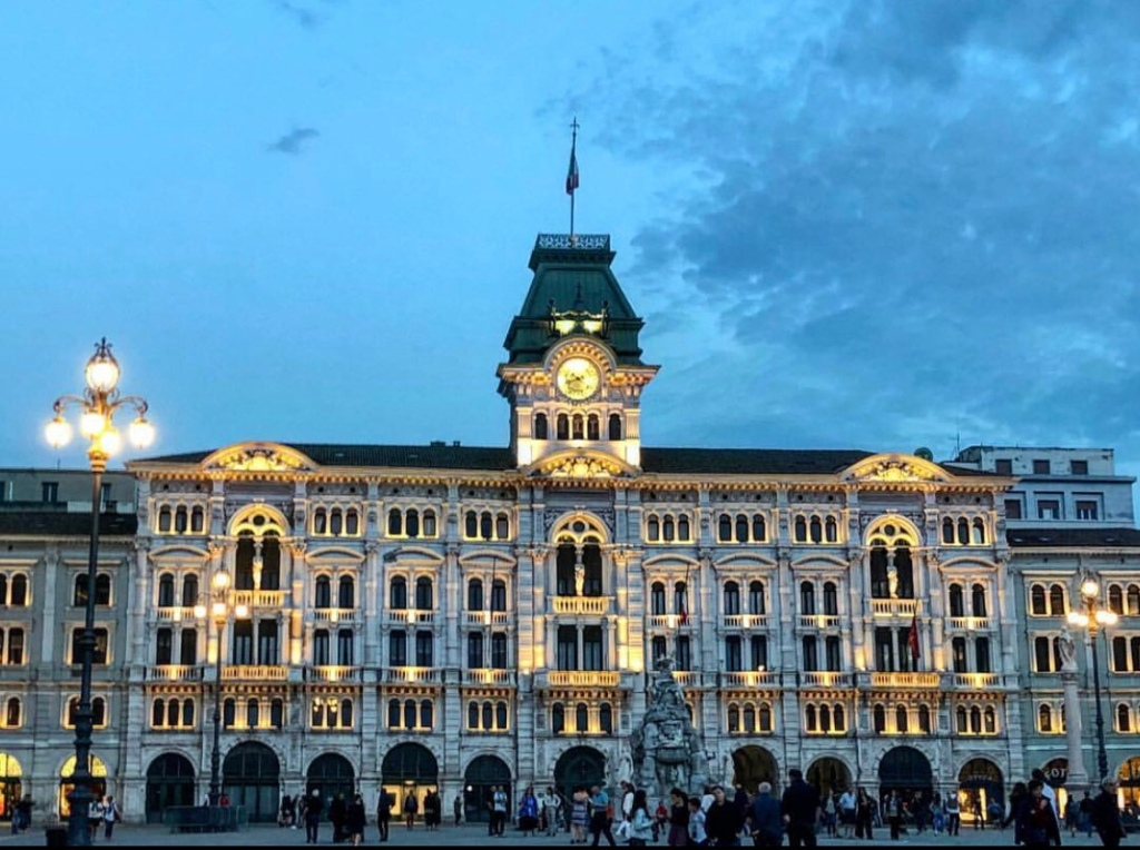 Old building in Trieste, Italy