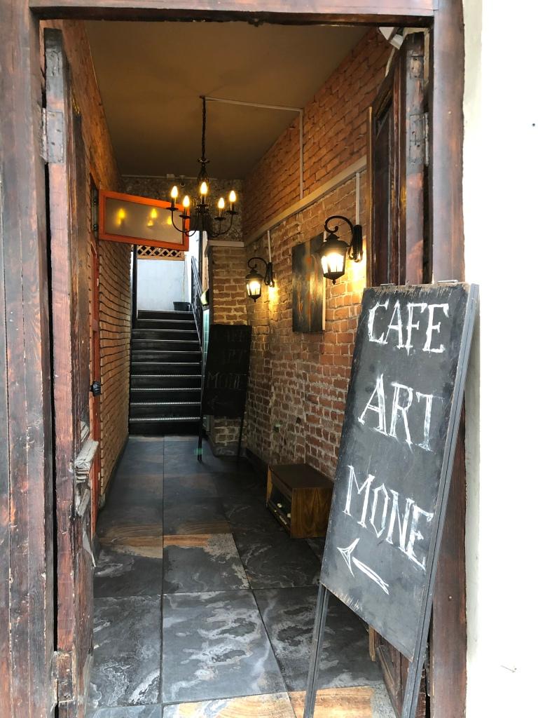 Cafe art in Tbilisi, Georgia