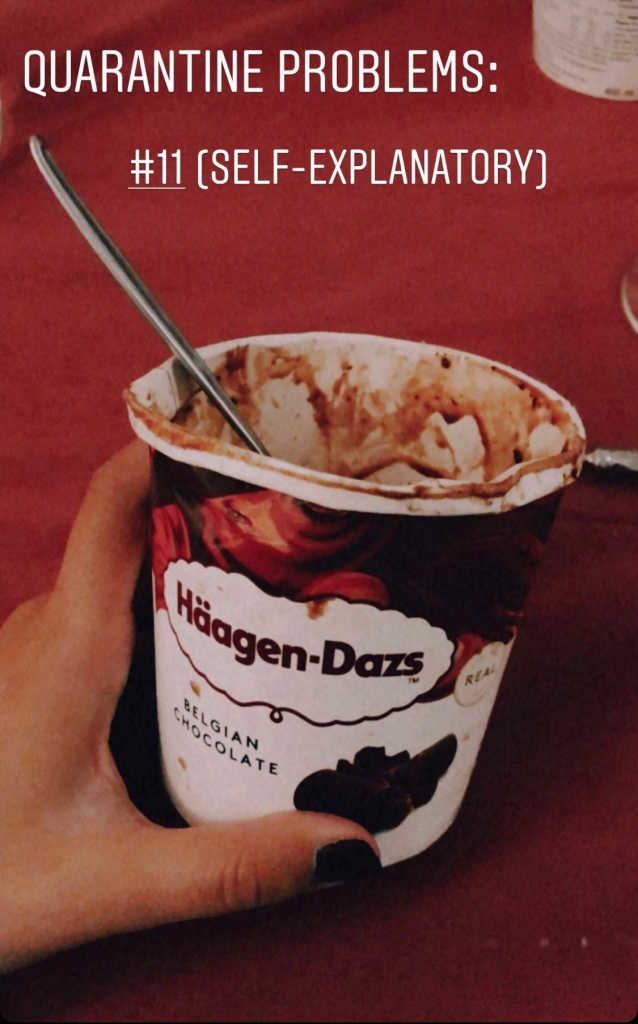 Haagen-Dazs Belgian Chocolate ice-cream