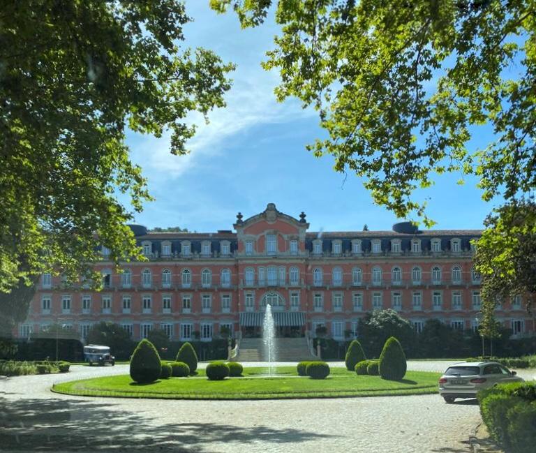 Vidago Palace Hotel in Portugal
