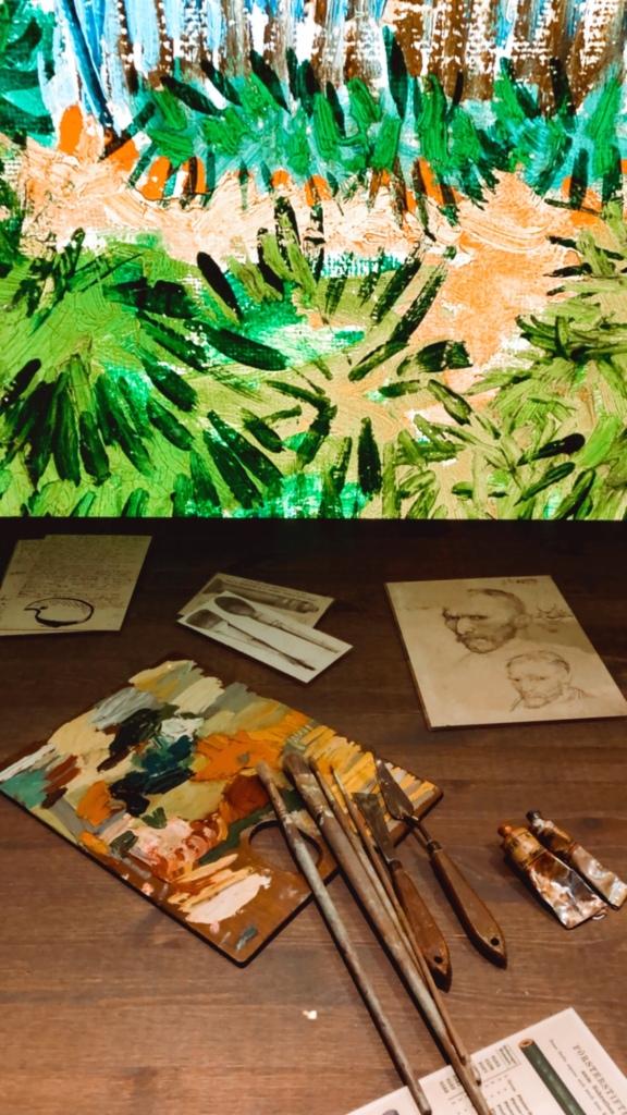 Van Gogh immersive experience. Art