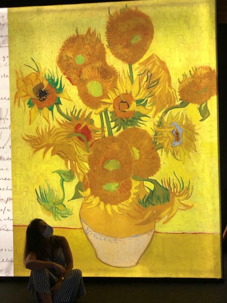 Sunflowers by Van Gogh. Art