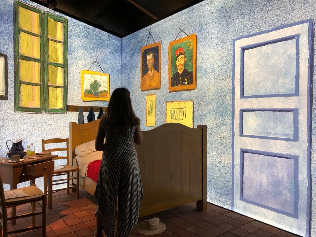 My bedroom by Van Gogh. Art. Lisbon