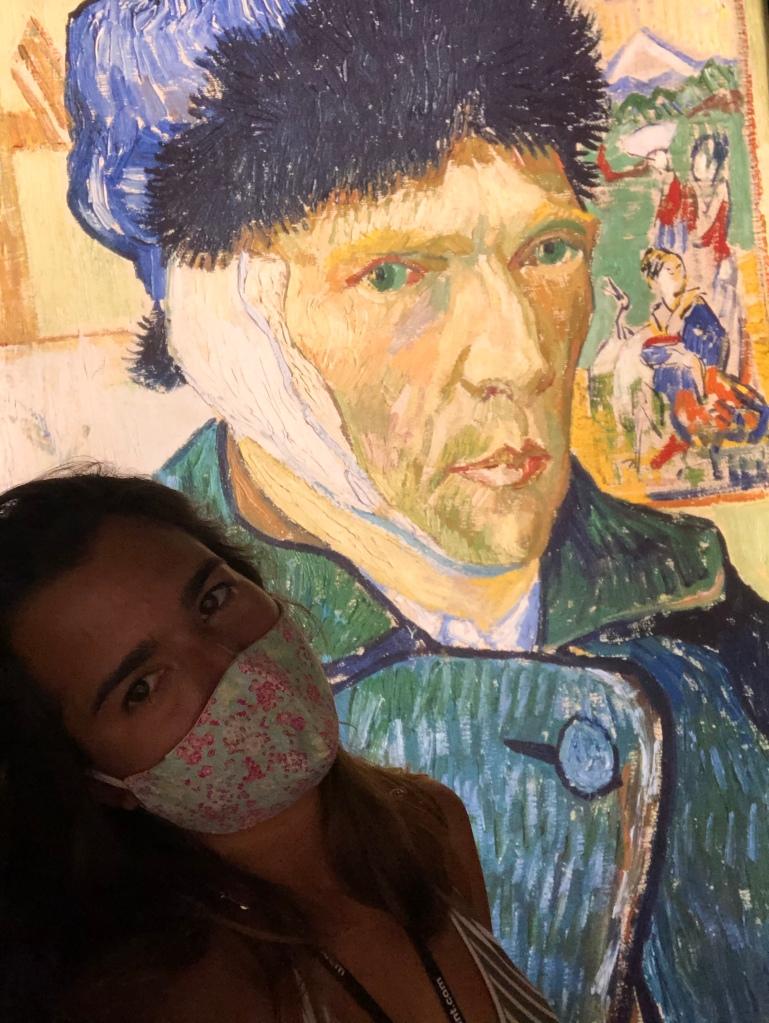 Self-portrait by Van Gogh. Art